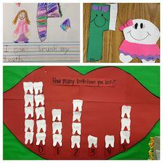 Dental Health Ideas!  So cute!