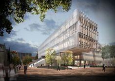 University of Melbourne New Faculty of Architecture by John Wardle Architects