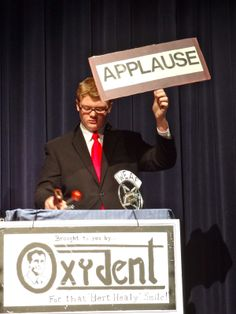 Sc. 8 Applause Sign (Laughter, Aww, Quiet) | Props