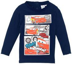 Disney Cars - Camiseta de Cars para niño, talla 12 meses (12 meses), color azul #camiseta #starwars #marvel #gift