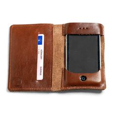 Leather iPhone Wallet By P.A.P. Accessories $75