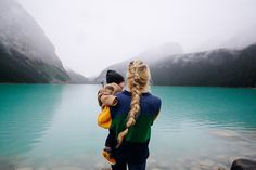 Rainy Day on Lake Louise - Barefoot Blonde by Amber Fillerup Clark Family Goals, Family Love, Barefoot Blonde, Foto Pose, Adventure Is Out There, Mommy And Me, Belle Photo, Future Baby, Family Photography