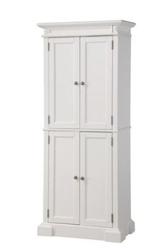 Special Offers - Home Styles 5004-692 Americana Pantry Storage Cabinet White Finish - In stock & Free Shipping. You can save more money! Check It (March 27 2016 at 02:53AM) >> http://bathvanitiesusa.net/home-styles-5004-692-americana-pantry-storage-cabinet-white-finish/