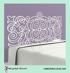 Cabeceira Casal 006 http://mejoganaparede.com.br/index.php/cabeceiras-cama-box