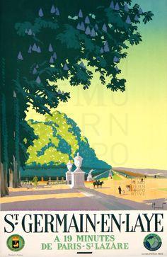 COMMARMOND SAINT GERMAIN EN LAYEA 19 MN DE PARIS-ST LAZARE ENV 60X100 GUIDES MAYEUX PARIS | Flickr - Photo Sharing!