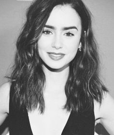 Hair / Lily Collins  | followpics.co