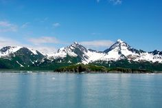 Beautiful Mountain Ranges - Kenai Peninsula, Alaska - see our travel blog: www.UnhookNow.com