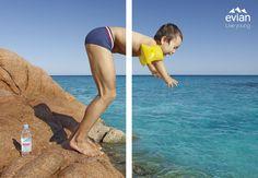 Evian Campaign / Jean-Yves Lemoigne Photographe http://arcreactions.com/a-facebook-fan-is-worth-174-but-dont-buy-them/