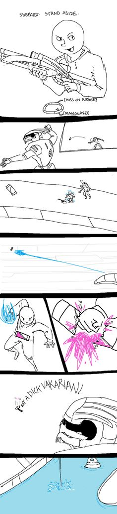 dannjamesinspace:    LMAO    bringing fists to a snipe fight by ~Chasing-the-Redline