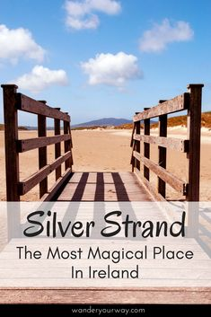 There are those places that are so special they seem almost magical. Silver Strand — a sandy beach in County Mayo — just might be the most magical spot in all of Ireland. It's that gorgeous and that mesmerizing. Click though to find out more!
