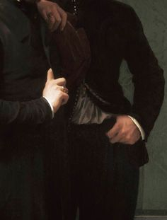 Hippolyte Jean Flandrin,René Charles Dassy and His Brother Jean Baptiste Claude Amédé Dass (detail) 1850.