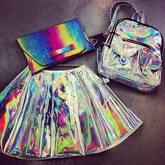 i need this skirt and bagpack !