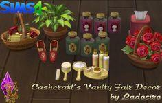 Cashcraft's Vanity Fair Decor at Ladesire via Sims 4 Updates