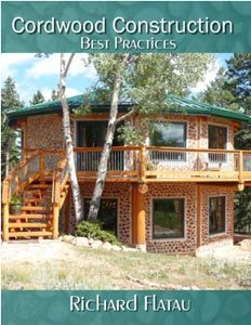 Cordwood Masonry for the Do-it-Yourself Builder. Learn to Build your own Cordwood Masonry Home!