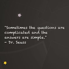 Dr. Seuss quote for school