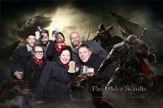 The Elder Scrolls Online Tamriel Beer Garden Event at PAX East 2013.