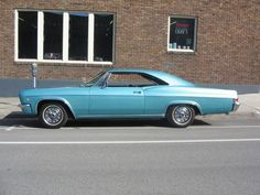 This was my first car-just like this! 1966   CHEVY IMPALA SS
