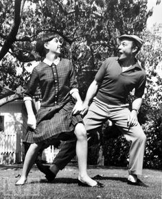 Liza Minnelli and Gene Kelly