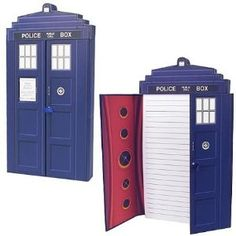Doctor Who TARDIS Deluxe Journal