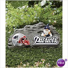 Huge 5' NFL New England Patriots Lineman Inflatable Outdoor Yard ...