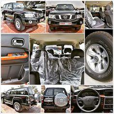 The Patrol Safari is a fine blend of practicality and functionality. #NissanPatrol #Safari #2015MY #BlackExterior #GrayInterior #RuggedOff-Roader #HighBumpers #FlaredWheelArches #PhenomenalGroundClearance