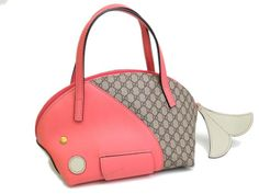 Gucci Hand bag Whale GG Plus Pink 284720(BF054289)