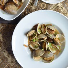 clams with soy butter manila clams with soy butter more tender clams ...