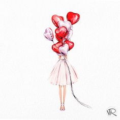 This is so pretty perfect drawing 😙 Celebrate Life Every Day 💖 Illustration Mignonne, Cute Illustration, Girly Drawings, Art Drawings, Fashion Wall Art, Art Sketchbook, Cute Wallpapers, Cute Art, Art Sketches