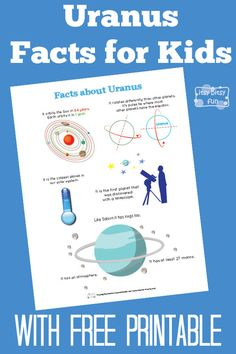 Fun Uranus Facts for Kids With Free Printables