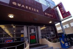 Quarrier Diner to close next week - News - The Charleston Gazette - West Virginia News and Sports - Charleston West Virginia, Charleston Wv, Family Of 4, Mountain States, Soda Fountain, Blue Plates, Next Week, Food Truck, Amazing Places