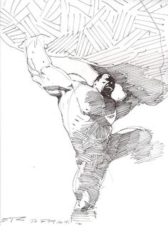 The Hulk by Esad Ribic