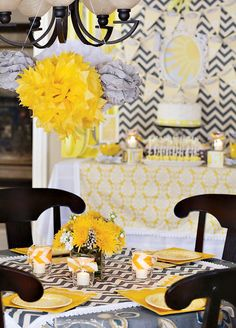 You Are My Sunshine (Gender Neutral) Baby Showerhttp://www.nashvillewrapscommunity.com/blog/2012/08/learn-how-to-make-fun-easy-tulle-poms/