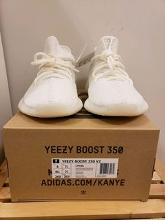 2faeb1cce49 adidas Yeezy Boost 350 V2 - Cream size 8 yzy triple white ovo Jordan  #fashion