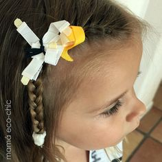 These creations are great attached to your hair accessories such as hair clips, headbands or diadems. Taekwondo, Karate, Recycled Toys, Ribbon Sculpture, Hair Bows, Hair Clips, Headbands, Sculptures, Hair Accessories