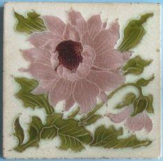Викторианская плитка и майолика XIX века - Дизайн интерьеров   Идеи вашего дома…