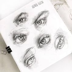 """5,995 Likes, 34 Comments - ArteVM (@artevm) on Instagram: """"Amazing Art by: @lesya_poplavskaya ____________________________ Drawing in progress #sketch #eye…"""""""