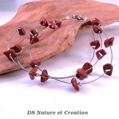 Red stone jewelry red jasper jewelry pagan by DSNatureetCreation https://www.etsy.com/listing/253280609/red-stone-jewelry-red-jasper-jewelry