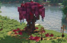 Minecraft Tree, Minecraft Garden, Minecraft Structures, Minecraft Mansion, Cute Minecraft Houses, Minecraft Room, Amazing Minecraft, Minecraft Blueprints, Minecraft Crafts