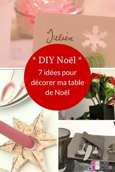 7 id es pour d corer son sapin de no l no l christmas - Decorer sa table de noel ...