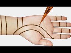Arabic easy mehndi design for front hands - Beautiful and simple mehndi design 2020 Mehendi Designs For Kids, Very Simple Mehndi Designs, Henna Tattoo Designs Simple, Stylish Mehndi Designs, Mehndi Designs 2018, Henna Art Designs, Mehndi Designs For Beginners, Mehndi Simple, Mehndi Designs For Fingers