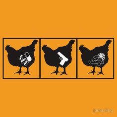 """""""All I wanted is to eat the chicken that is smarter than other chickens and to absorb its power"""" or perhaps it is full of candy... we may never know. (Orange is the New Black)"""