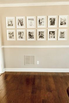 This simple secret to hanging photos easily will blow your mind! It saves you so much time and frustration so you can easily hang your pictures without nailing… Old Baby Cribs, Pottery Barn Mirror, Gaming Wall Art, Diy End Tables, Diy Concrete Planters, Bed With Slide, Wood Stars, Simple Pictures, Hanging Photos