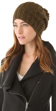 Eugenia Kim Jon Slouchy Beanie. Need one of these for the cold weather.