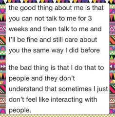 Yes! And I get so nervous the other person will hate me and think I'm ignoring them. Oh gosh....