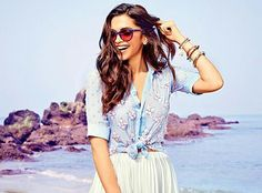 Deepika Padukone recently did a photo shoot for an eyewear brand that she endorses.