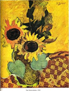 """Georges Braque:  """"The Sunflowers"""""""