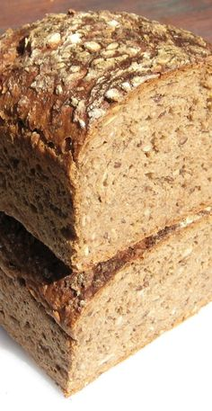 Fast rising German Style Sourdough bread -- If I find out I can have gluten. Sourdough Recipes, Sourdough Bread, Bread Recipes, Baking Recipes, Rye Bread, Starter Recipes, Croissants, German Bread, Bread Bun