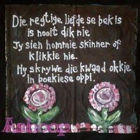 Liefde is nie dikbek nie Cement Flower Pots, Afrikaanse Quotes, Goeie More, Prayer Box, Sweet Quotes, Silhouette Cameo Projects, Pictures To Paint, Good Advice, Trust God