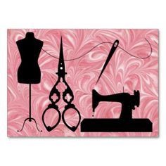 Shop Sewing / Fashion / Seamstress - SRF Business Card created by sharonrhea. Fashion Business Cards, Cool Business Cards, Victorian Paper Dolls, Sewing Clipart, Visiting Card Design, Coin Couture, Arte Country, Sewing Cards, Sewing Studio