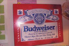 Budweiser Wall/Bar Sign
